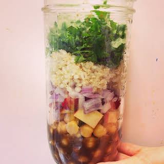 Mason Jar Salad.