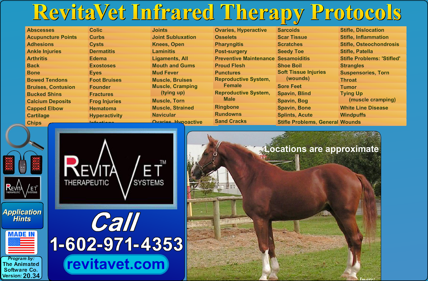 RevitaVet Infrared Therapy- screenshot