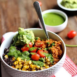 Vegan Burrito Bowl #Recipe
