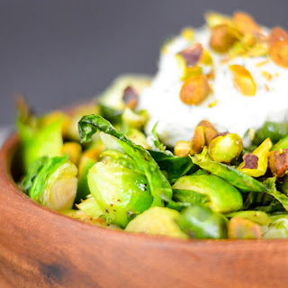 Perfectly Roasted Brussel Sprouts.