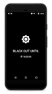 BlackOut: Stay Focused/Beat Phone Addiction Screenshot