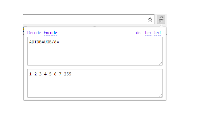 base64 to binary
