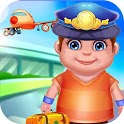 Airport Manager Simulator Kids - Play Clean Planes icon