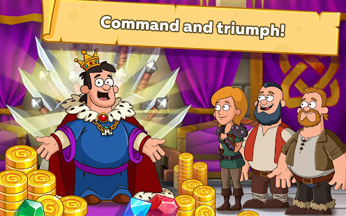 Game Hustle Castle: Medieval Royal RPG. Fantasy Kingdom APK for Windows Phone
