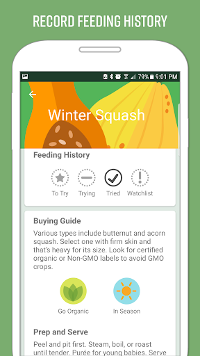 Nuttri - Baby Food: Guide to starting solids screenshot