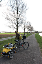 Photo: Day 8 - Cycling on the Canalside