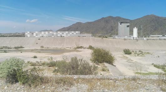 IMAGEN captada en la desaladora del Bajo Almanzora, afectada por la riada de 2012.
