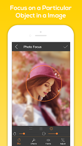 Photo Focus Photo Editor 1.5 screenshots 3