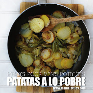 Patatas a lo pobre – Poor Man's Potatoes