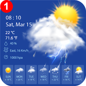 Weather Forecast 2019 – live Weather apps