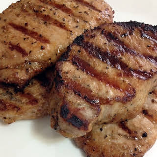 Perfectly Grilled Moist Pork Chops.
