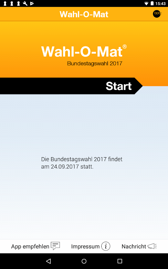 Wahl-O-Mat- screenshot