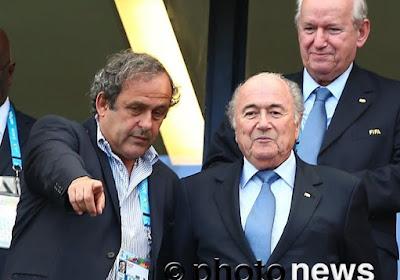 Sepp Blatter accuse Michel Platini et Nicolas Sarkozy