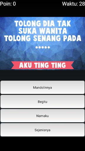 玩免費音樂APP|下載Tebak Lirik Lagu Ayu Ting Ting app不用錢|硬是要APP