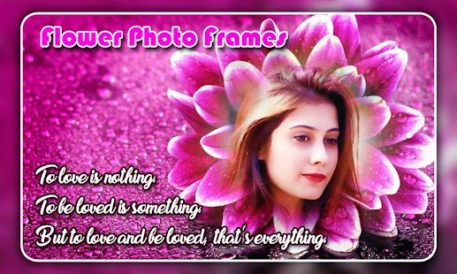 Flower Photo Frames Screenshot