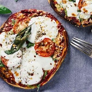 10-Minute Margherita Pita Bread Pizzas.
