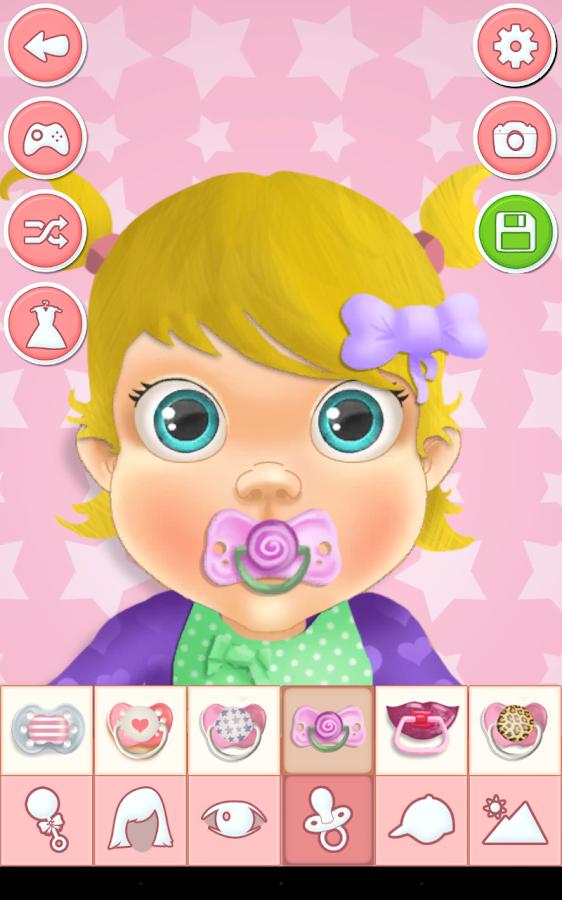 Baby Bedroom Dress Up Games