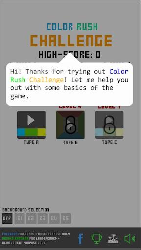 Color Rush Challenge
