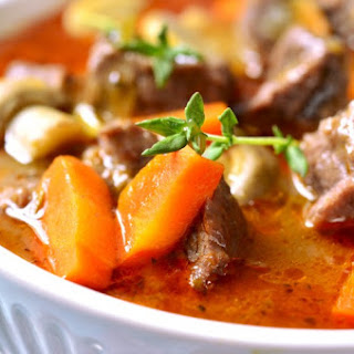 Crock Pot Low-Fat Beef Stew.