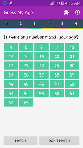 android Guess My Age Screenshot 3