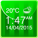 Football Weather Clock Widget icon
