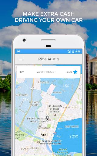 Ride Austin TNC Driver App screenshots 1