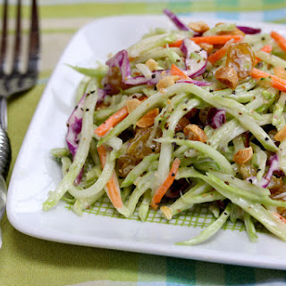 Broccoli Slaw With Dried Cranberries