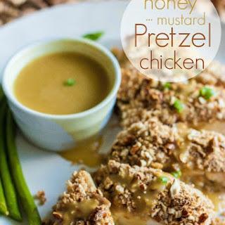 Honey Mustard Pretzel Chicken.
