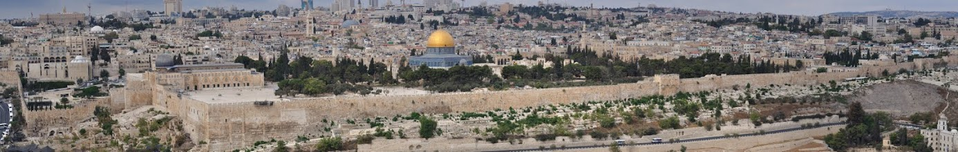 Photo: Oude stad Jeruzalem (Foto Arie Bosschaart)