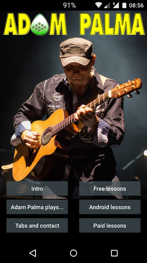 Adam Palma - Guitar Lessons- screenshot