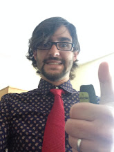 Photo: Evan's ready for his GRC poster talk