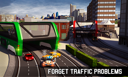 Elevated Bus Simulator: Futuristic City Bus Games 2.2 screenshots 3