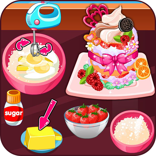 Cook strawberry short cake cookies (game)