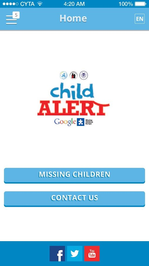 Child Alert Cyprus- screenshot