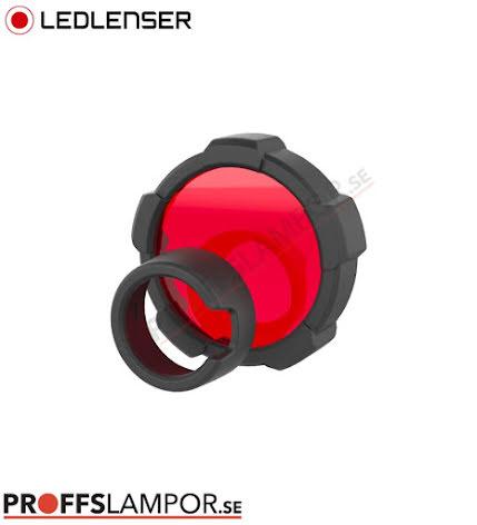 Tillbehör Ledlenser färgfilter röd 85,5 mm
