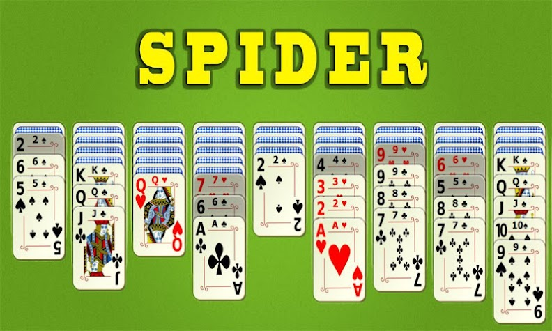 Spider Solitaire Mobile Screenshot