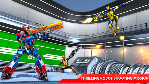 Counter Terrorist Robot Shooting Game: fps shooter 1.5 screenshots 3