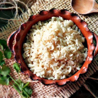 (Mexican White Rice).