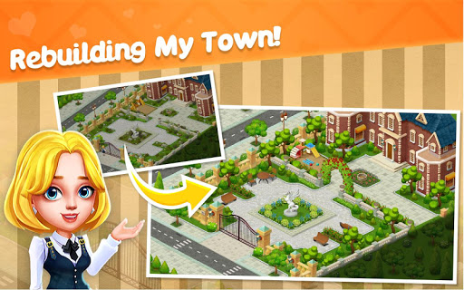Town Story - Match 3 Puzzle - screenshot
