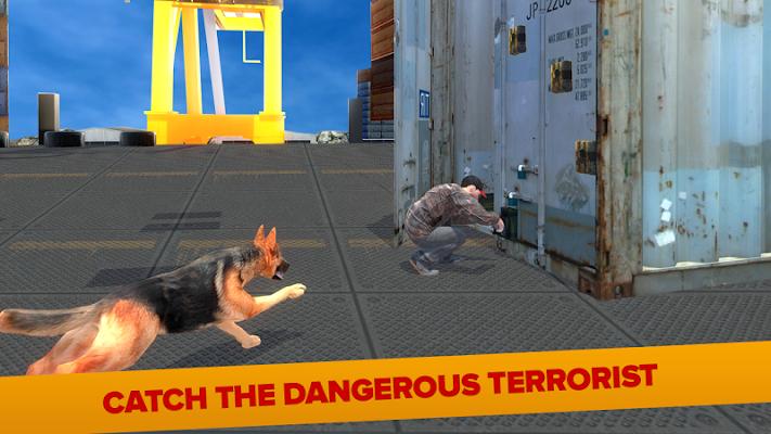 Police Dog Modern Pirate Chase - screenshot