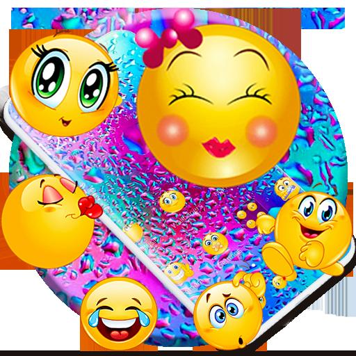 Crazy Emoji Theme for iPhone X, iOS 11 Skin