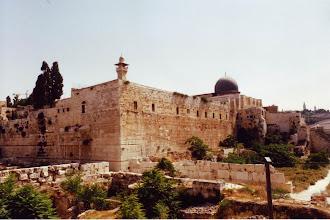 Photo: #024-Les murs de la vieille ville à Jérusalem
