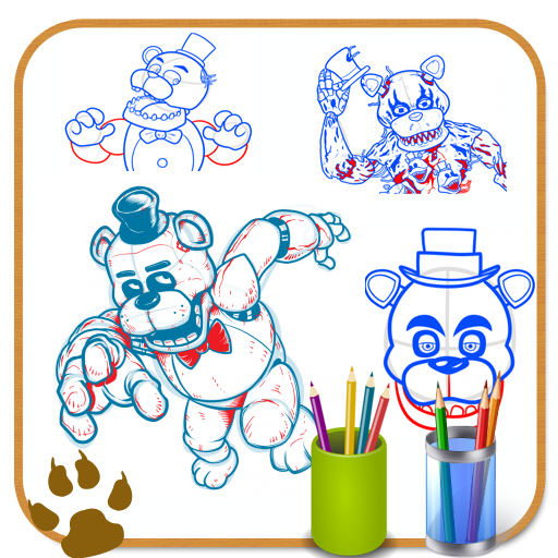 download apk easy draw freddy fnaf app 1 0 app for android