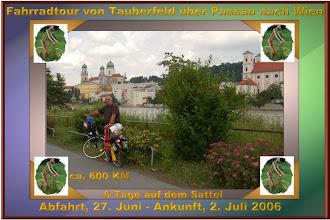 Photo: Meine erste große Radltour - wunderschön - auch wenn das Wetter nicht immer so mitgespielt hat. www.rad.hux.de
