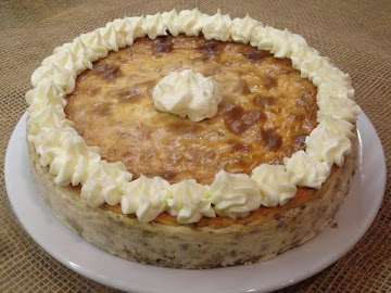 Pistachio-coconut-amaretto Cheesecake Recipe