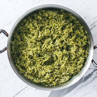 Vegan Arroz Verde.