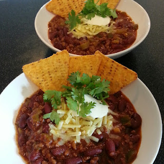 Slow Cooker Mexican Chili.