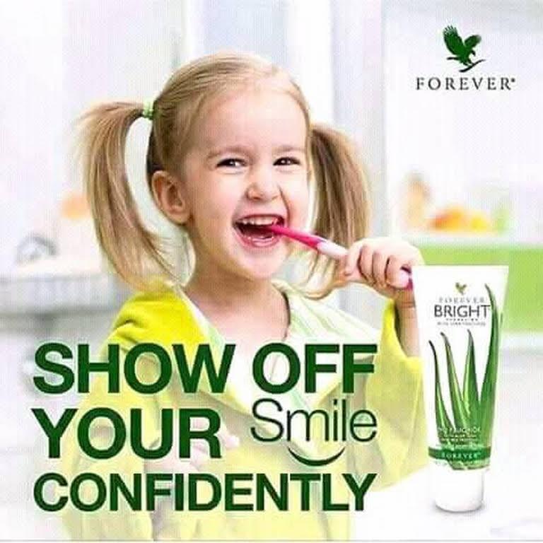 Forever Bright Toothgel an toàn đối với trẻ em