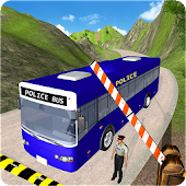 NYPD Police Bus Simulator 3D