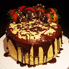 Baked Cake by Ingrid Anderson-Riley - Food & Drink Cooking & Baking